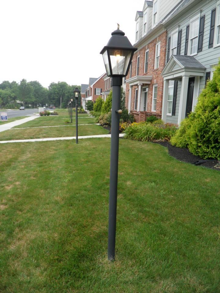 Customer Photos Of Gas Street Lamp Outdoor Yard Lighting