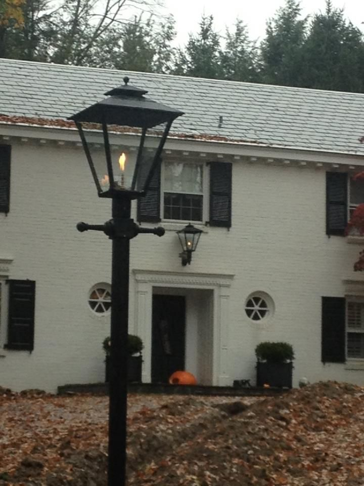 Customer Photos Of Gas Street Lamp Outdoor Yard Lighting