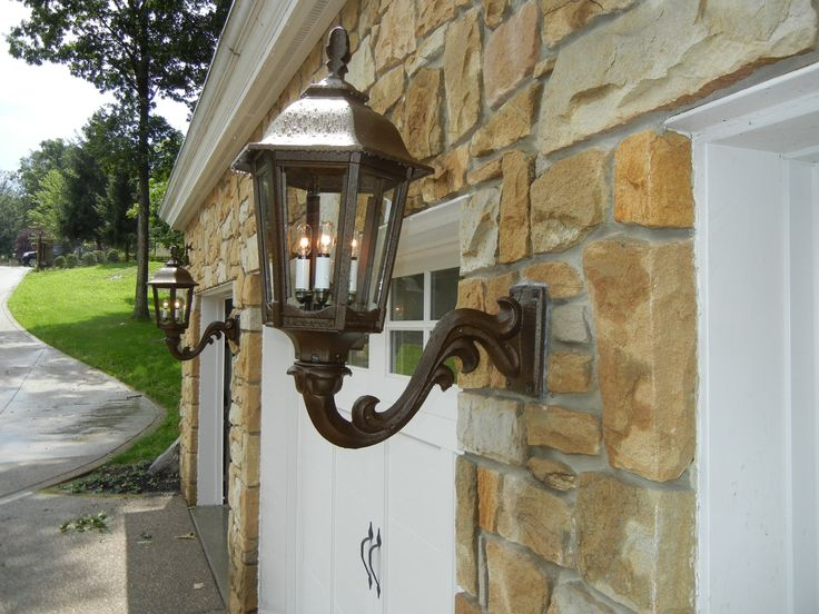 Electric Wall Mounted Gas Lamp Fixtture