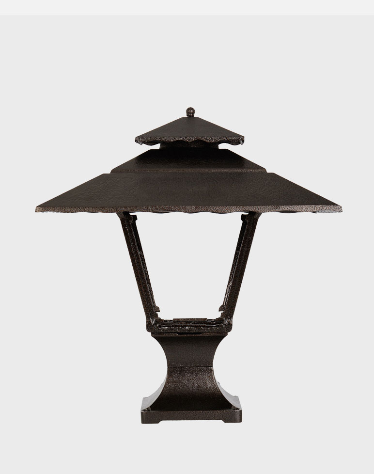 Contemporary 1800 Gaslite Outdoor Gas And Electric Yard Lamp Lighting Fixture Easy Living Home