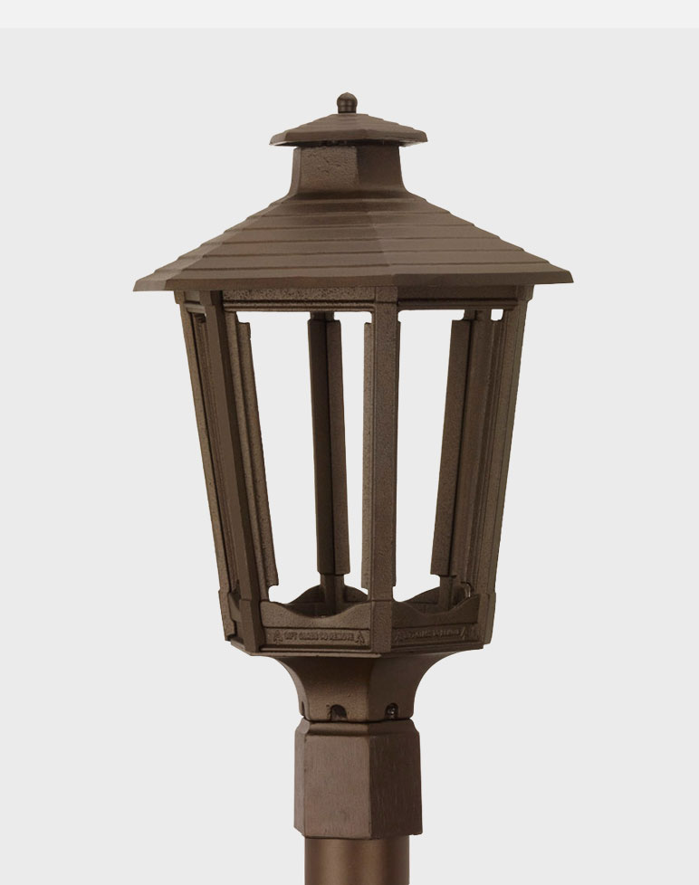 Residential cast aluminum gaslite outdoor gas and electric yard lamp cosmopolitan 1600 aloadofball Gallery