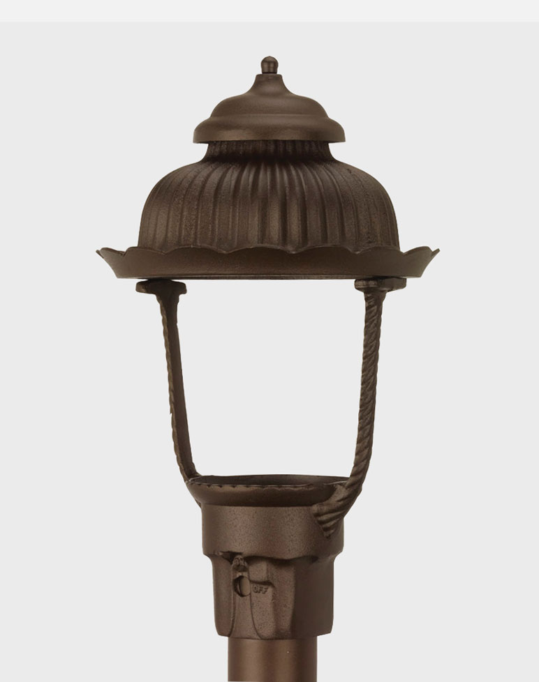 Heritage 1700 Gaslite Outdoor Gas And Electric Yard Lamp