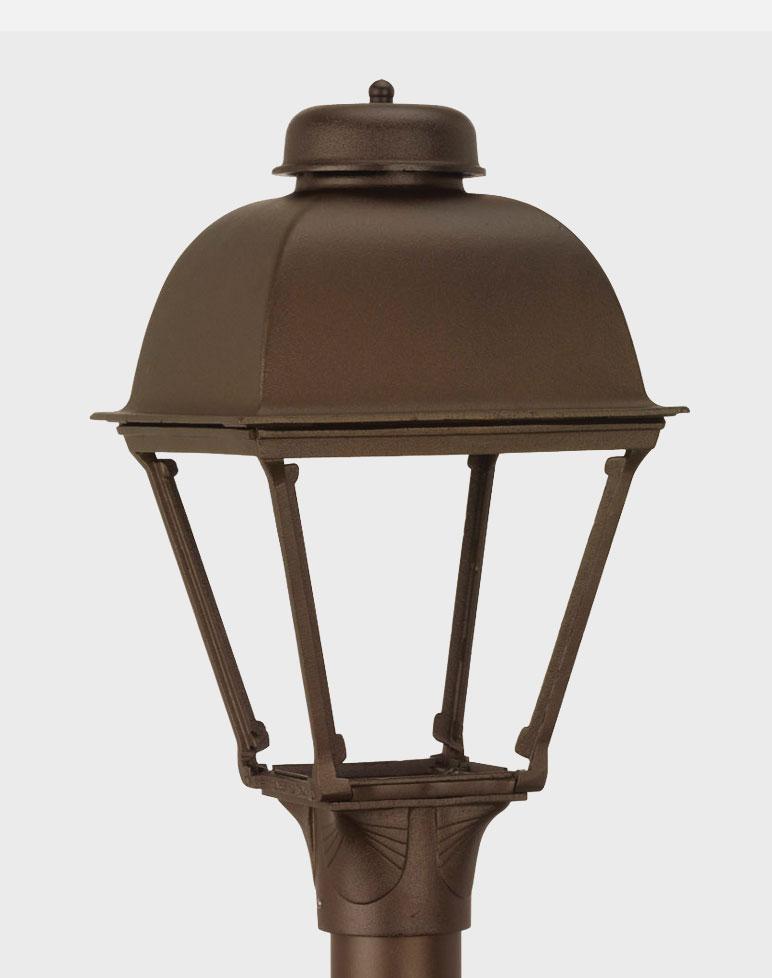 Washington 2000 Gaslite Outdoor Gas And Electric Yard Lamp