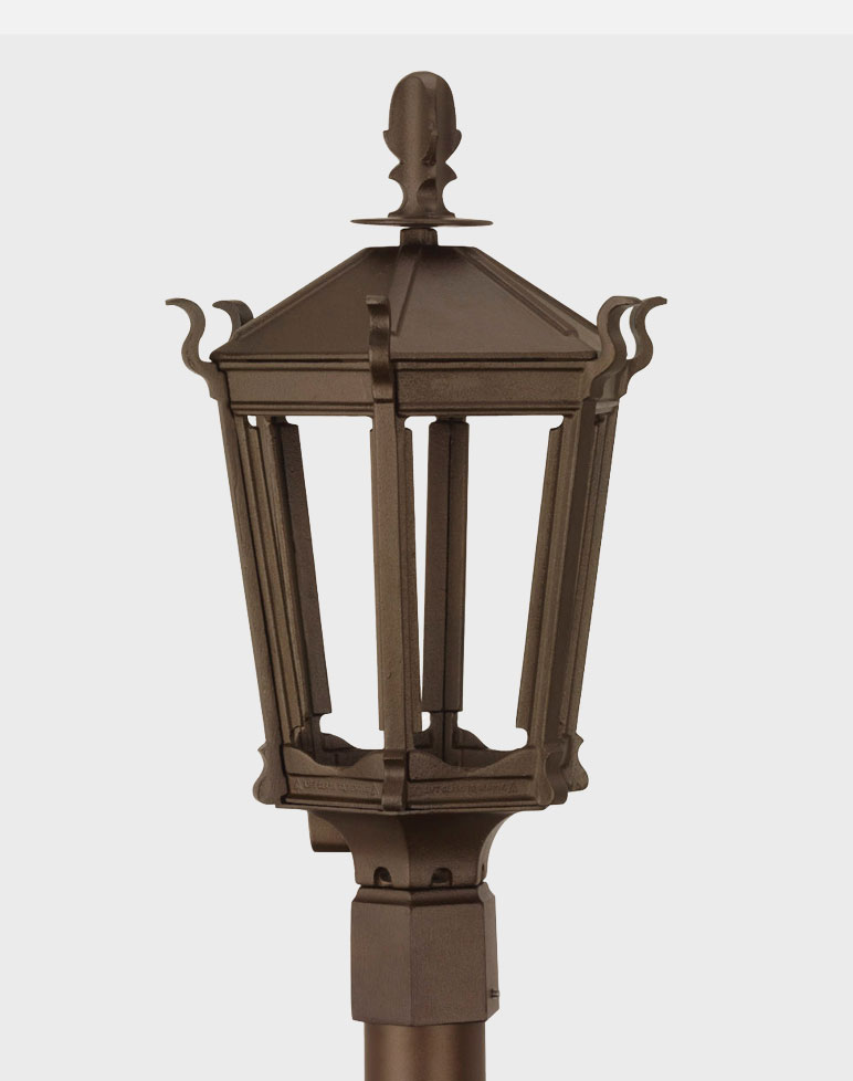 gothic 2900 gaslite outdoor gas and electric yard lamp. Black Bedroom Furniture Sets. Home Design Ideas