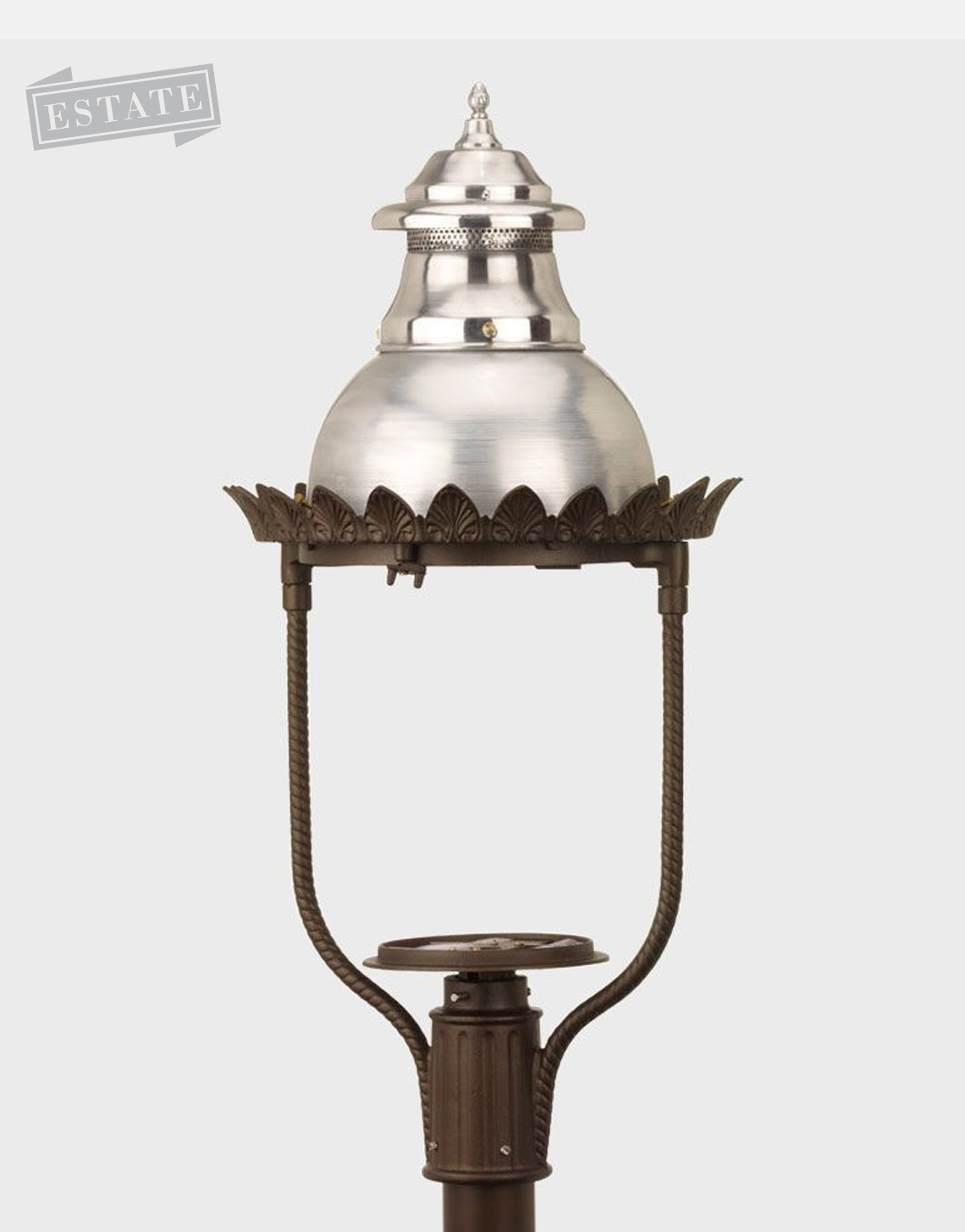 victorian 4200 gaslite outdoor gas and electric yard lamp. Black Bedroom Furniture Sets. Home Design Ideas
