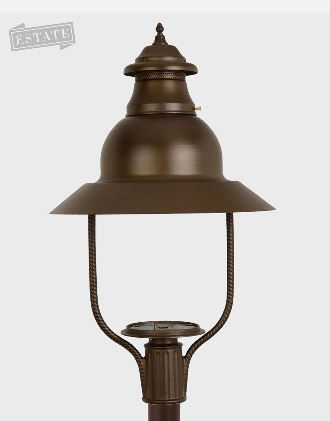 Apollo 4300 Gaslite Outdoor Gas And Electric Yard Lamp