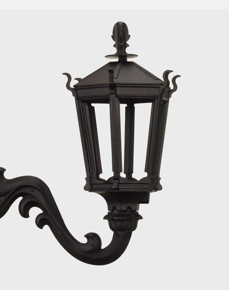 Gothic 2900 Gaslite Outdoor Gas And Electric Yard Lamp Lighting Fixture Eas