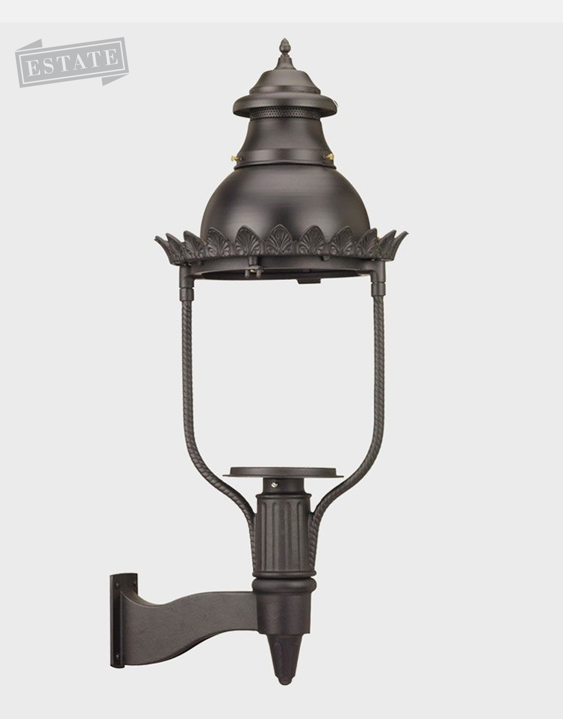Victorian 4200 Gaslite Outdoor Gas And Electric Yard Lamp